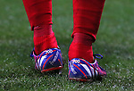 Steven Gerrard special boot to mark his 700th appearance as a Liverpool player - FA Cup Fourth Round replay - Bolton Wanderers vs Liverpool - Macron Stadium  - Bolton - England - 4th February 2015 - Picture Simon Bellis/Sportimage
