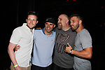 JohnnyMac, Enzo Polumbo, Adam Poch, Alex Coladonato at Big Brother 19 premiere on June 28, 2017 at Slate, New York City, New York. (Photo by Sue Coflin/Max Photos)