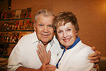 Bob Hastings - Burt Ramsey on GH and wife Joan at 4th Annual Mid-Atlantic Nostalgia Convention in Aberdeen, Maryland. (Photo by Sue Coflin/Max Photos)
