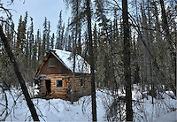 Abandoned cabin outside Copper Center, Alaska.