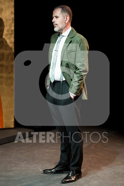 "Orancio Ortega during the theater play of ""Addio del Passato"" at Fernan Gomez Theater in Madrid. March 15, 2017. (ALTERPHOTOS/Borja B.Hojas)"