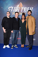 Producer Aaron Harberts with Jason isaacs, Sonequa Martin-Green &amp; Shazad Latif at the special fan screening for &quot;Star Trek Discovery&quot; at Millbank Tower, London, UK. <br /> 05 November  2017<br /> Picture: Steve Vas/Featureflash/SilverHub 0208 004 5359 sales@silverhubmedia.com