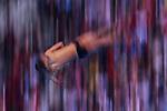 Ambience shot, <br /> SEPTEMBER 1, 2018 - Diving : Men's 10m Platform Preliminary at Gelora Bung Karno Aquatic Center during the 2018 Jakarta Palembang Asian Games in Jakarta, Indonesia. <br /> (Photo by MATSUO.K/AFLO SPORT)