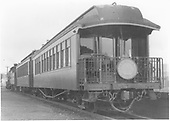 End-side view of parlor car &quot;Chama&quot; with Shavano drum head.<br /> D&amp;RGW