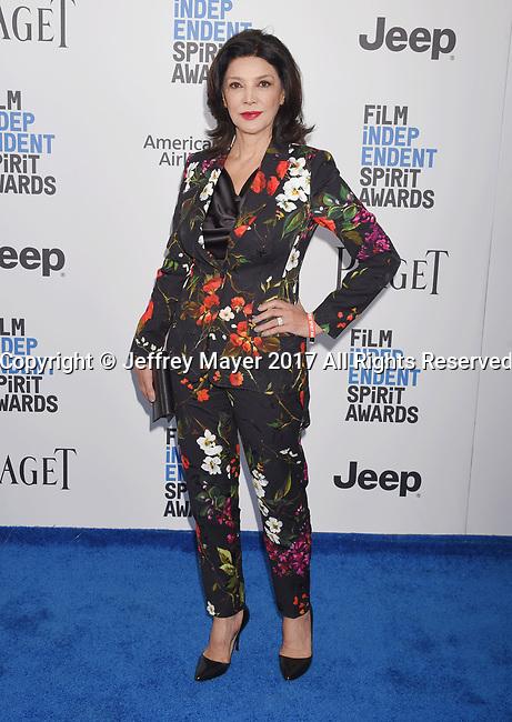 SANTA MONICA, CA - FEBRUARY 25: Actress Shohreh Aghdashloo attends the 2017 Film Independent Spirit Awards at the Santa Monica Pier on February 25, 2017 in Santa Monica, California.