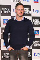 "Elio Gonzalez attends the ""DIOSES Y PERROS "" Movie presentation at Kinepolis Cinema in Madrid, Spain. October 6, 2014. (ALTERPHOTOS/Carlos Dafonte) /nortephoto.com"