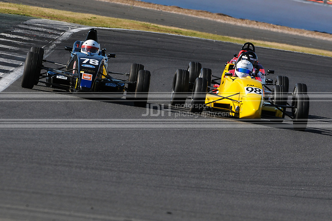 James Chapman - Van Diemen RF03 & Don Boyack - TM Racing Van Diemen JL12