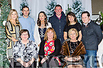 Staff from the AIB celebrating their Christmas party in the Killarney Oaks hotel on Friday night front row l-r: Bridget Fitzgerald, Imelda Ford, Mary Cronin. Back row: Marguerite Sheahan, Fergus McAulliffe, Emer Crowley, Tim Murphy, Mary Tattan and Peter Doyle
