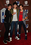 MIAMI, FL - JULY 17: Marcelo Michelli, Andrew Michelli, Alex Michelli from Sonus poses in the press room at Premios Juventud 2014 Awards at BankUnited Center on July 17, 2014 in Miami, Florida. (Photo by Johnny Louis/jlnphotography.com)
