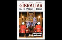 Gibraltar International - Finance and Business - Magazine, cover, Nov/Dec/Jan 2009/10 - Westminster, London - 19th October 2009