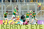 David Naughten Kerry in action against Ryan Forde  Galway in the All Ireland Minor Football Final in Croke Park on Sunday.