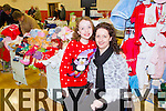 Pictured at the Christmas food and crafts fair in Duagh Sports and Leisure Centre on Sunday were Aisling and Sinead Sexton, Templeglantine of AK Embroidery.