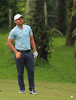 Jordan Smith (ENG) in action on the 10th during Round 2 of the Maybank Championship at the Saujana Golf and Country Club in Kuala Lumpur on Friday 2nd February 2018.<br /> Picture:  Thos Caffrey / www.golffile.ie<br /> <br /> All photo usage must carry mandatory copyright credit (&copy; Golffile | Thos Caffrey)