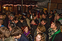 Section of the Audience at the Wagon and Horses, Birmingham, for the Forbidden Town Album Launch
