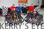 Surprise Stag party for Piotr, Abbey Park, Tralee,  as his bride to be Monika was having a surprise hen party in Cork, they will be getting married in Poland in February, here having a great time at Manor Karting on Saturday  front l-r Piotr Skowronski, Robert Brzyskiewicz,  Back l-r Adam Mikolajczuk,Jacek Piekarz, Tomek Piekarz, Krzysztof Golen