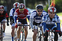 The Men's D1 of the Penn State Frat Row Criterium of the Eastern Collegiate Cycling Conference Championships on April 26, 2015. Photo'© 2015 Craig Houtz