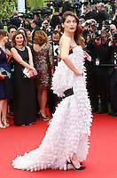 Laetitia Casta attends the 'Grace of Monaco' Premiere - 67th Cannes Film Festival - France