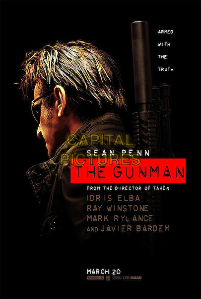 POSTER ART<br /> in The Gunman (2015)<br /> *Filmstill - Editorial Use Only*<br /> CAP/NFS<br /> Image supplied by Capital Pictures