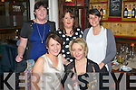 BIRTHDAY CELEBRATION: Lisa Geaney, Castleisland (seated right) celebrated her birthday last Friday night in the newest restaurant in Tralee, The Stonehouse, the Square, with Sandra Leahy and at back l-r: Melanie Walsh, Mairead Hickey and Rocio Suarez.