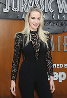 LOS ANGELES, CA - JUNE 12: Emily Carmichael, at Jurassic World: Fallen Kingdom Premiere at Walt Disney Concert Hall, Los Angeles Music Center in Los Angeles, California on June 12, 2018. Credit: Faye Sadou/MediaPunch