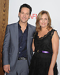 "LOS ANGELES, CA. - December 13: Paul Rudd and Julie Yaeger  attend the ""How Do You Know"" Los Angeles Premiere at Regency Village Theatre on December 13, 2010 in Westwood, California."