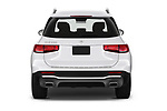 Straight rear view of a 2020 Mercedes Benz GLB GLB250 5 Door SUV stock images