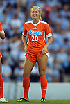 24 August 2012: Florida's Christen Westphal. The University of North Carolina Tar Heels played the University of Florida Gators to a 0-0 overtime tie at Fetzer Field in Chapel Hill, North Carolina in a 2012 NCAA Division I Women's Soccer game.