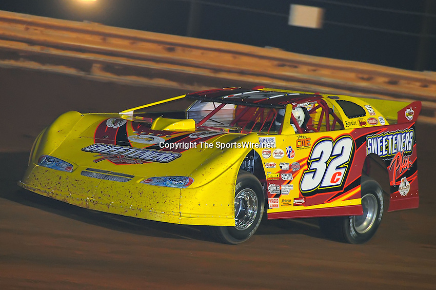 Jan 28, 2010; 6:55:55 PM; Waynesville, GA., USA; The Southern All Stars Racing Series running The Super Bowl of Racing VI at Golden Isles Speedway.  Mandatory Credit: (thesportswire.net)