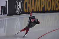 SPEEDSKATING: HAMAR: Vikingskipet, 28-02-2020, ISU World Speed Skating Championships,  Sprint, 1000m Ladies, Heather Mclean (CAN), ©photo Martin de Jong