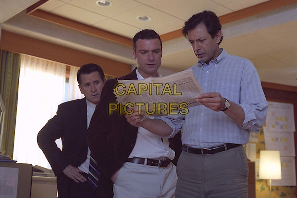 ANTHONY LAPAGLIA, LIEV SCHREIBER & JEFF GOLDBLUM.in Spinning Boris.Filmstill - Editorial Use Only.Ref: FB.sales@capitalpictures.com.www.capitalpictures.com.Supplied by Capital Pictures.