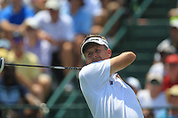 David Lynn (ENG) tees off the 1st tee to start his match Sunday's Final Round of the 94th PGA Golf Championship at The Ocean Course, Kiawah Island, South Carolina, USA 11th August 2012 (Photo Eoin Clarke/www.golffile.ie)