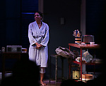 """Audra McDonald during the Opening Night Curtain Call for """"Frankie and Johnny in the Clair de Lune"""" at the Broadhurst Theatre on May 29, 2019  in New York City."""