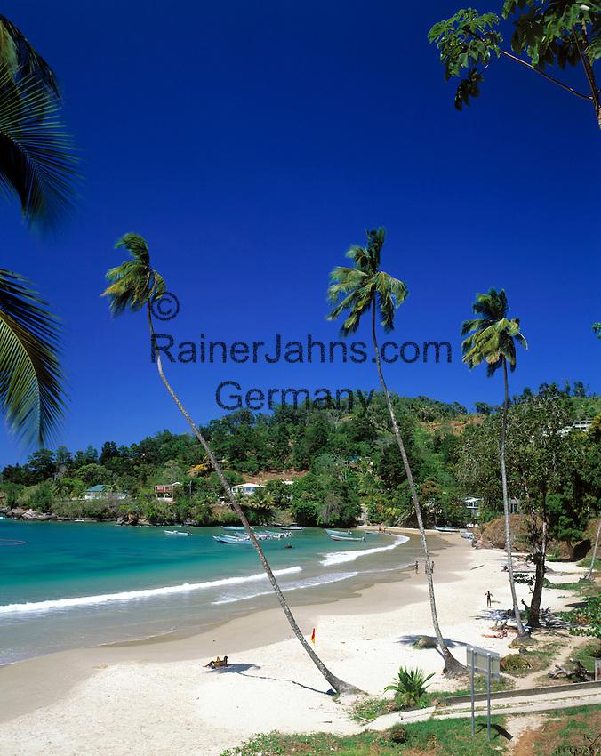 Trinidad & Tobago, Commonwealth, Trinidad, Las Cuevas Bay: bay and beach in the north