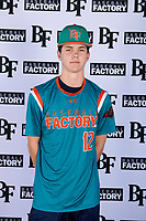 Ryan Pettys (12) of Arnold High School in Panama City Beach, Florida during the Baseball Factory All-America Pre-Season Tournament, powered by Under Armour, on January 12, 2018 at Sloan Park Complex in Mesa, Arizona.  (Mike Janes/Four Seam Images)