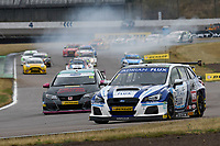 \\ during BTCC Race 2  as part of the Dunlop MSA British Touring Car Championship - Rockingham 2018 at Rockingham, Corby, Northamptonshire, United Kingdom. August 12 2018. World Copyright Peter Taylor/PSP. Copy of publication required for printed pictures.