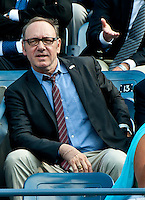 QUEENS, NY - September 9, 2012: Actor Kevin Spacey attends the Women's Singles Final match on Day 14 of the 2012 U.S. Open Tennis Championships at the USTA Billie Jean King National Tennis Center in Flushing, Queens, New York, USA. © mpi105/MediaPunch Inc. /NortePhoto.com<br />