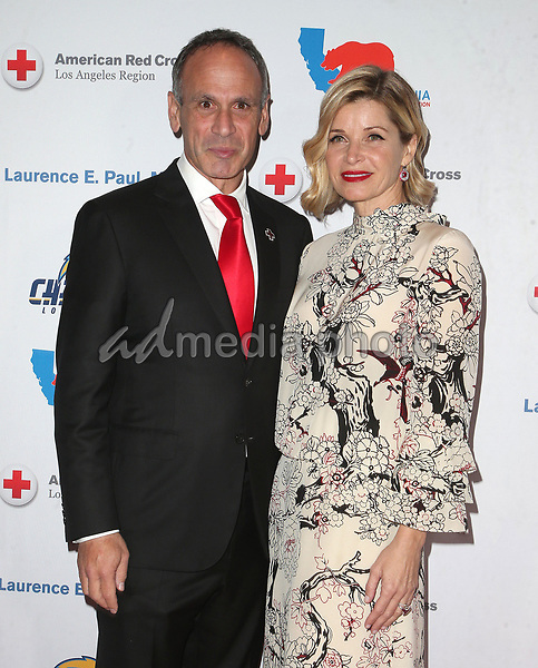 09 March 2018 - Los Angeles, California - Laurence E. Paul, Kathleen Paul. American Red Cross Annual Humanitarian Celebration Honoring The LA Chargers at the Skirball Cultural Center. Photo Credit: F. Sadou/AdMedia