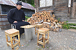 Barkerville Historic Site, Chinatown, Chinese chess player