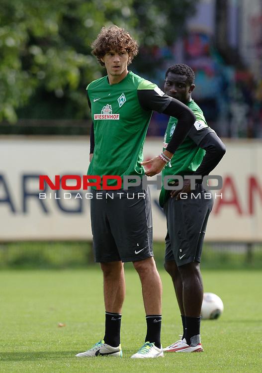 14.08.2013, Trainingsgelaende, Bremen, GER, 1.FBL, Training Werder Bremen, im Bild Mateo Pavlovic (Bremen #4)<br /> <br /> Foto &copy; nph / Frisch
