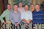 Killarney gardai? pictured at their Christmas party in The Malton hotel, Killarney, on Saturday night detective sergeant Paudie Sayers, detective inspector Dan Keane, detective garda Mike Dalton, detective garda Jim Kennedy, detective garda Sandra Kelly and detective garda Pat Kelliher.