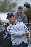 David Lingmerth (SWE) watches his tee shot on 10 during Round 3 of the Valero Texas Open, AT&amp;T Oaks Course, TPC San Antonio, San Antonio, Texas, USA. 4/21/2018.<br /> Picture: Golffile   Ken Murray<br /> <br /> <br /> All photo usage must carry mandatory copyright credit (&copy; Golffile   Ken Murray)