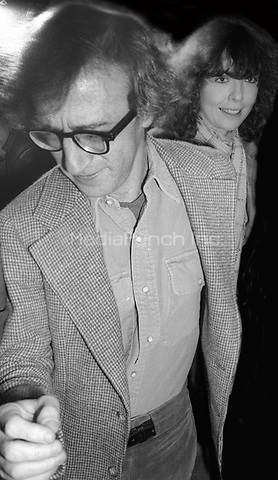 Woody Allen and Diane Keaton 1978<br />