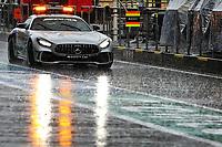 11th July 2020; Styria, Austria; FIA Formula One World Championship 2020, Grand Prix of Styria qualifying sessions;  F1 Safety Car, Mercedes-AMG GT R, heavy rain