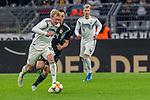 09.10.2019, Signal Iduna Park, Dortmund, GER, FSP, LS, Deutschland (GER) vs Argentinien (ARG)<br /> <br /> DFB REGULATIONS PROHIBIT ANY USE OF PHOTOGRAPHS AS IMAGE SEQUENCES AND/OR QUASI-VIDEO.<br /> <br /> im Bild / picture shows<br /> Julian Brandt (Deutschland / GER #10)<br /> Lucas Ocampos (ARG #24)<br /> <br /> <br /> <br /> während Freundschaftsspiel  Deutschland gegen Argentinien   in Dortmund  am 09.10..2019,<br /> <br /> Foto © nordphoto / Kokenge