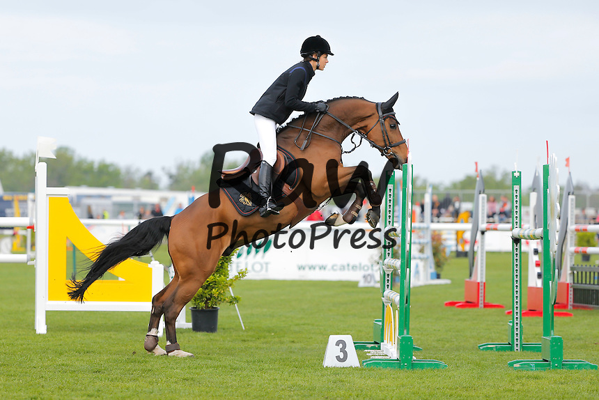 196253 Paul  Katchers / Starface 2015-04-25 Oise<br /> Chantilly France<br />  Jumping de Chantilly 2015. Charlotte Casiraghi (mon)<br /> <br /> <br /> <br /> <br />  Casiraghi, Charlotte (Monaco) Carlota Casiraghi y Guillaume Canet han participado en el concurso de saltos de Chantilly.<br /> <br /> 196253 P. Katchers / Starface 2015-04-25 Oise<br /> Chantilly France<br />  Jumping de Chantilly 2015.