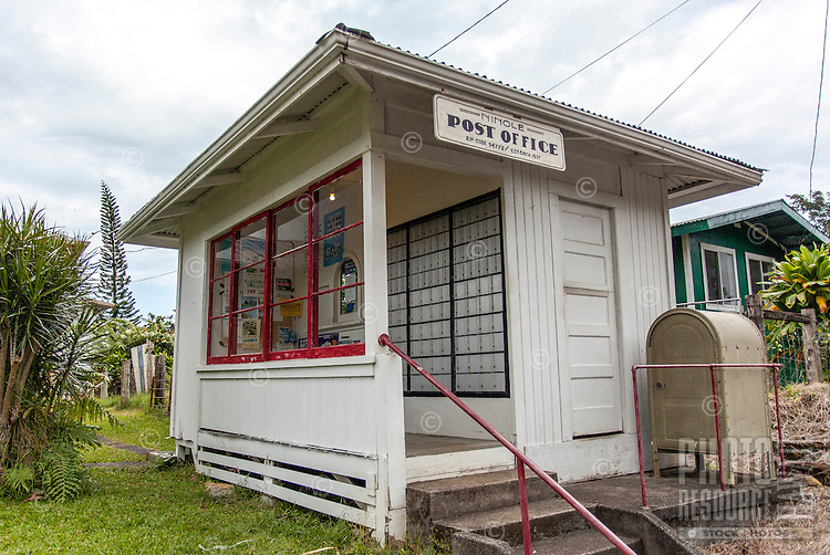 Ninole Post Office, Ninole, Big Island.