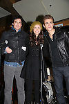 "Vampire Diaries stars Paul Wesley (Wasilewski) ""Max"" GL, Ian Somerhalder, Nina Dobrev on January 30, 2010 during the Hot Topic Tour at the Westfield Garden State Plaza, Paramus, New Jersey where they signed autographs and held a Q & A session for a huge number of fans. (Photo by Sue Coflin/Max Photos)"