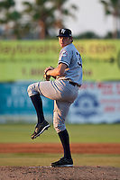 Dan Kapala (35) of the Tampa Yankees during a game vs. the Daytona Beach Cubs at Jackie Robinson Ballpark in Daytona Beach, Florida. Tampa, the Florida State League High-A affiliate of the New York Yankees, won the game against Daytona, affiliate of the Chicago Cubs, by the score of 11-3  Photo By Scott Jontes/Four Seam Images