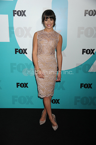 Lea Michele at the Fox 2012 Programming Presentation Post-Show Party at Wollman Rink in Central Park on May 14, 2012 in New York City.. Credit: Dennis Van Tine/MediaPunch