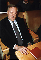 Anatoly Sobchak (father Ksenia Sobchak)<br /> Russian TV anchor, journalist, socialite and actress and celebrity presidential candidate running against Putin.<br /> **FILE PHOTO FROM 1998**<br /> ** NOT FOR SALE IN RUSSIA or FSU **<br /> CAP/PER<br /> &copy;PER/CapitalPictures